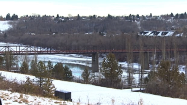 The LRT bridge that will replace the Cloverdale footbridge is being given a Plains Cree name, Tawatina.