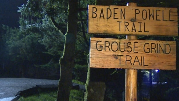 The stabbing happened on the B.C. Mountaineering Club trail, which runs adjacent to the Grouse Grind.