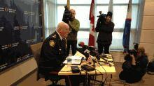 Saint John Police Chief Bill Reid speaks about Dennis Oland's arrest.