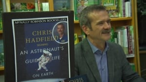 Chris Hadfield book signing
