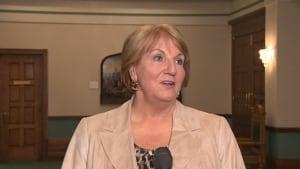 Newfoundland and Labrador Premier Kathy Dunderdale, November 13, 2013