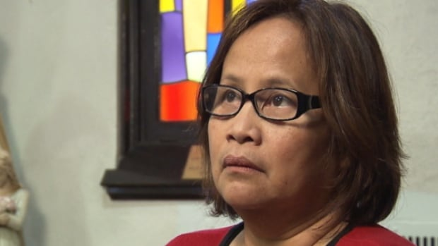Susan Teodoro says she is relieved her nine siblings and their 50 children are safe after Typhoon Haiyan ripped through the Philippines.