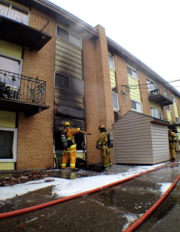 Fire at 4045 Robinson St., Regina