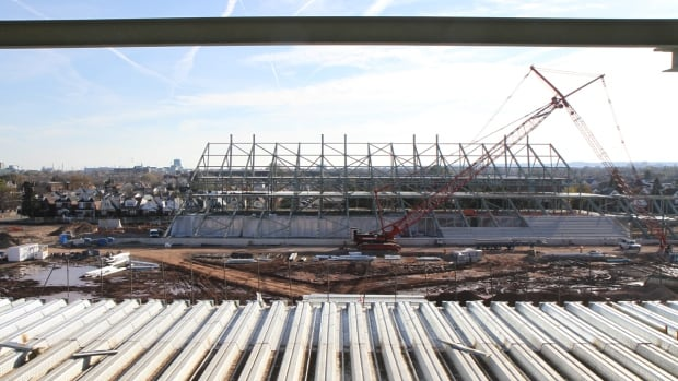 Non-residential construction like the new Pan Am stadium was an economic driver for Hamilton in 2013.