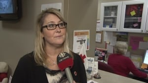 Rhonda Kenney, Red Cross St. John's spokesperson
