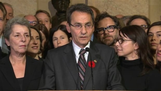 Projet Montréal leader, Richard Bergeron, will be officially sworn in Friday afternoon.