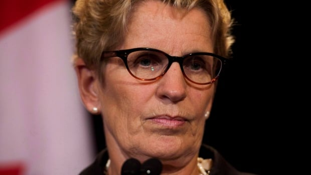 Ontario Premier Kathleen Wynne. Will she intervene in the Rob Ford controversy or not? She has set out certain conditions but seems to be willing to let Toronto councillors sort out the mess for themselves.