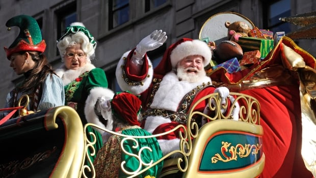 The Hamilton Santa Claus Parade will weave through the city's downtown core on Saturday afternoon.