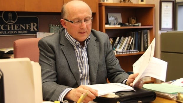 Tom Galloway, Waterloo Region's veteran money man, says the proposed 2014 budget is one of the most difficult in his 13 years on the job as the region's budget chair.