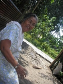 Marvin Panglilingan's grandmother
