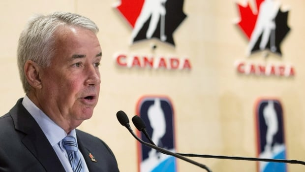 Hockey Canada president and chief executive officer Bob Nicholson said safety was one of key three areas Hockey Canada is addressing this weekend, along with affordability and availability of ice time, in order to make youth registration attractive to parents.