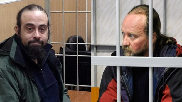 Alexandre Paul, 36, and Paul Ruzycki, 48, two crew from the Greepnpeace ship Arctic Sunrise were imprisoned in Russia after Russian forces seized their ship in international waters. Greenpeace had been protesting oil drilling in the Arctic Ocean. Ruzycki was released on bail Nov. 19, as was Paul on Nov. 21.