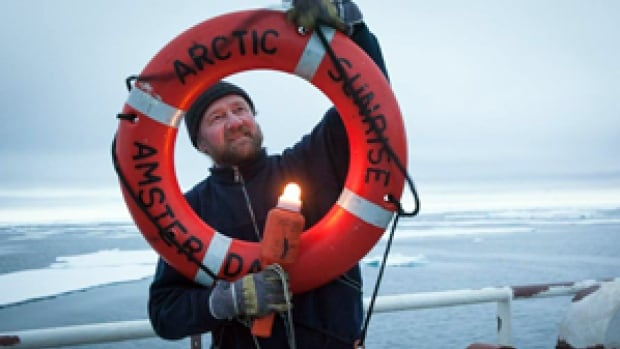 Paul Ruzycki, chief mate on the Arctic Sunrise, has been with Greenpeace for 25 years.