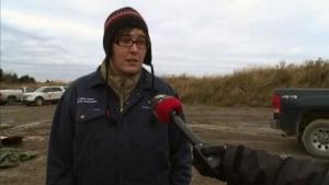 nl adele veinot veterinarian whale necropsy lewisporte 20131115