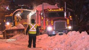 Snow trucks