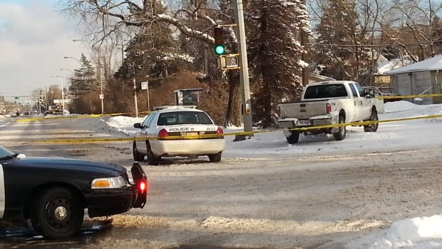 Police are still investigating near 135th Street and 111th Avenue where an elderly man was hit by a vehicle Sunday afternoon.