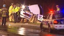 Woman dead fatal crash Montreal Road Bathgate Drive