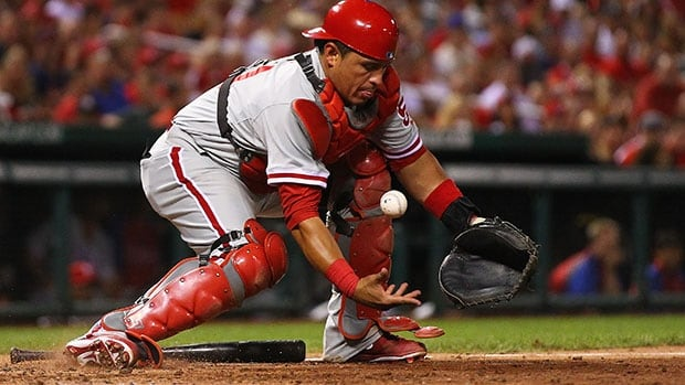 Carlos Ruiz hit .268 in 92 games last year after serving a 25-game suspension for using a banned amphetamine.