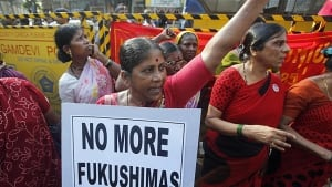 India-nuclear-protest