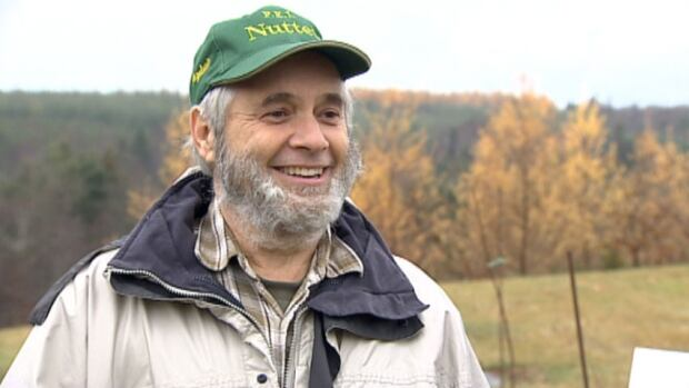 Hazelnut farmer Bill Glen says it will take another three to four years to really figure out how to grow hazelnuts on P.E.I.