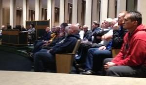 hi-nova scotia power workers at council meeting