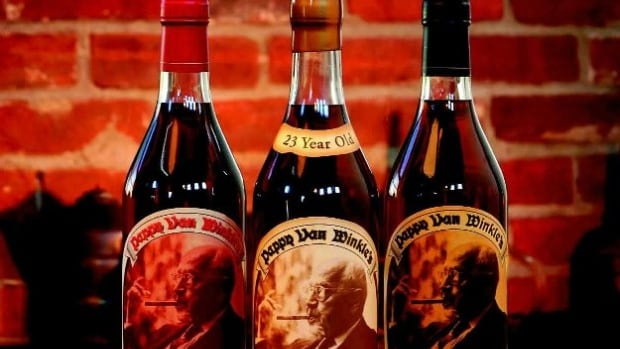 Bottles of Pappy Van Winkle retail for about $130.