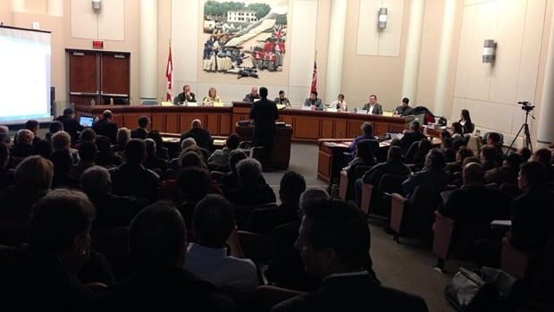 About 200 people packed into the Stoney Creek municipal centre on Highway 8 on Tuesday to hear plans to grow the Fruitland and Winona area by as many as 21,000 people over the next 20 years. The city is poised to approve a plan that will dictate future development.