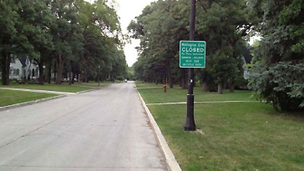 The city is considering bringing in a bylaw that would see motorists fined $190.80 for driving on a Sunday bike route.
