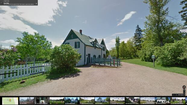 Green Gables in Prince Edward Island is among the 70 historic sites and national parks so far that can be explored on Google Street View.
