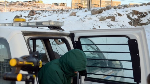 The trial of Eric Dejaeger, a 66-year-old Roman Catholic priest, entered its third day in Iqaluit this morning, with disturbing testimony from a woman who said Dejaeger used food to lure her into a sexual assault when she was eight years old.