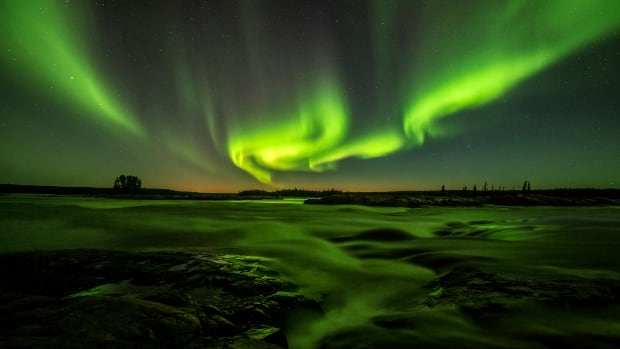 The combined effect of blasts from two solar storms this week 'should light up the skies pretty good over Canada,' says William Murtagh of the NOAA Space Weather Prediction Center.
