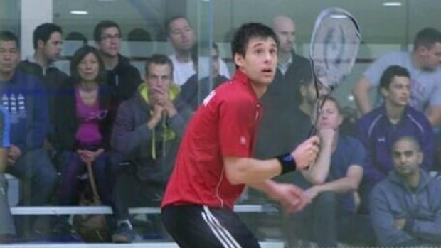 Adrian Dudzicki was born in Italy, grew up in Ottawa and had been training in Toronto for a few years at the National Squash Academy at Downsview Park.
