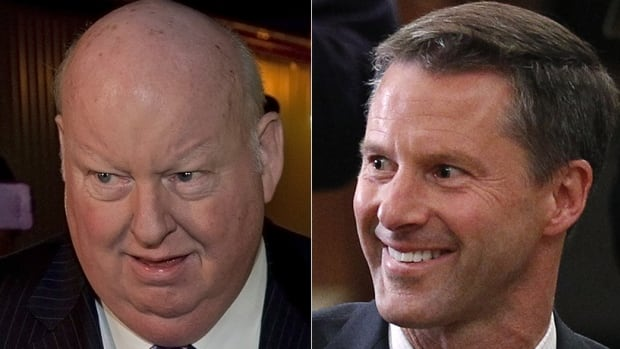 Suspended Senator Mike Duffy and Prime Minister Stephen Harper's former chief of staff Nigel Wright stand accused of allegedly committing bribery, fraud on the government, and breach of trust, say the RCMP in court documents released on Wednesday.
