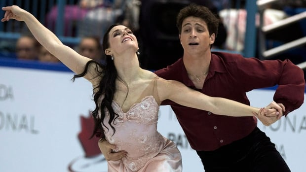 Canadian ice dancers Tessa Virtue, left, and Scott Moir won their fifth Skate Canada title last month in Saint John.