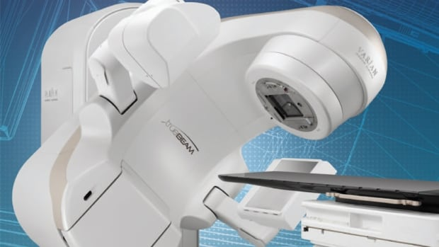The Juravinski Cancer Centre in Hamilton is the first Ontario hospital with a Varian TrueBeam radiation machine, a piece of technology doctors say could cut down on the number of hospital visits cancer patients have to make.