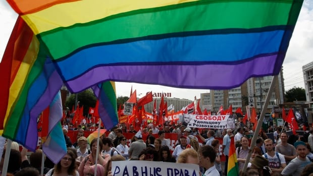 Questions remain about how Russian authorities will enforce the controversial anti-gay laws that came into effect earlier this year. Protests against those laws have turned violent.