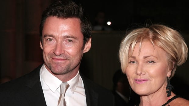 Actor Hugh Jackman said his wife, actress Deborra-Lee Furness (right), had urged him to get a mark on his nose checked out. He has since undergone treatment for skin cancer.