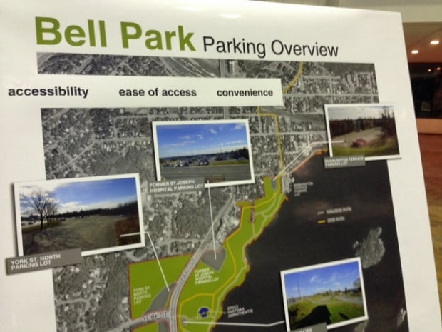 bell park parking overview