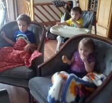 Samantha Taylor's kids homeless after fire