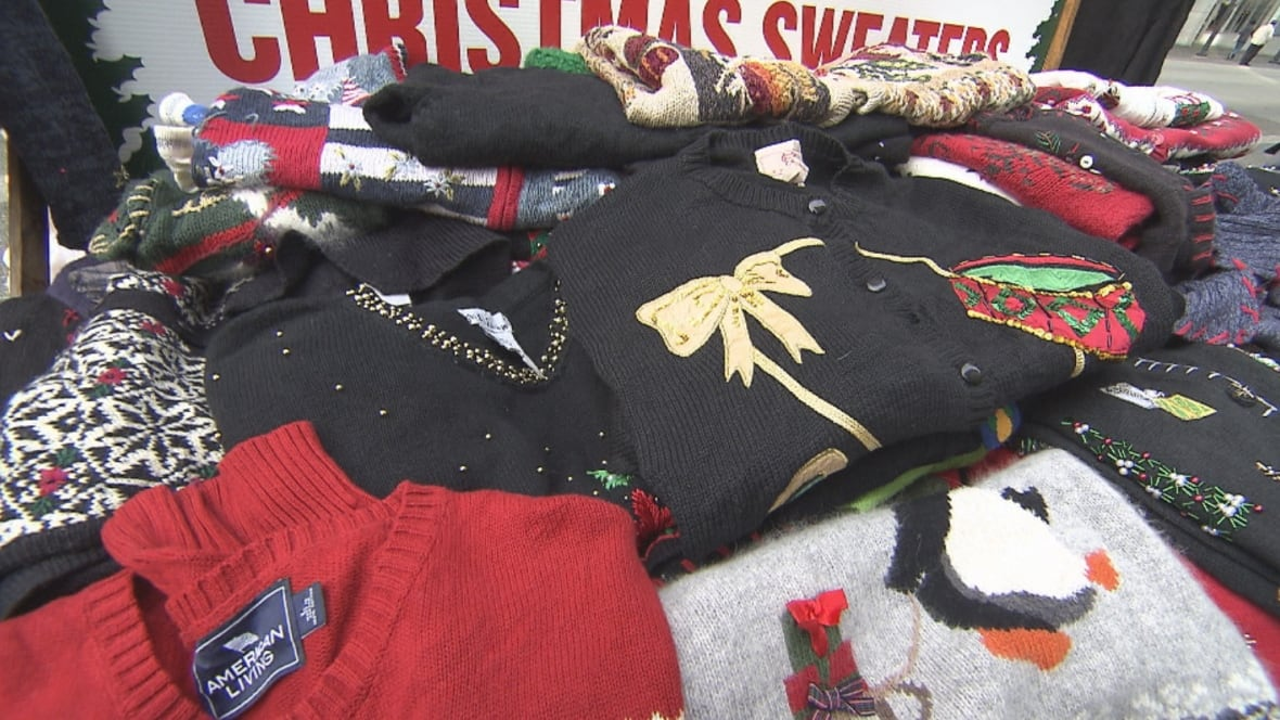 39;Ugly Christmas sweaters' are big business in Vancouver - British Columbia - CBC News