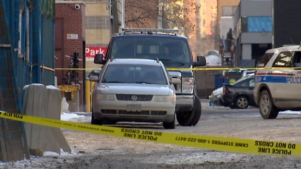 The assault that took the life of Lukas Strasser-Hird, 18, happened in the alley behind 10th Avenue at Second Street S.W.