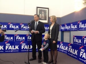 Ted Falk victory speech