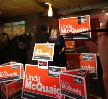 NDP candidate Linda McQuaig