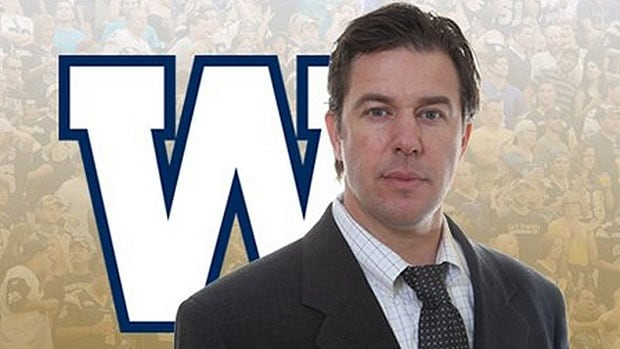 Kyle Walters has moved into a permanent role as the Winnipeg Blue Bombers' general manager.