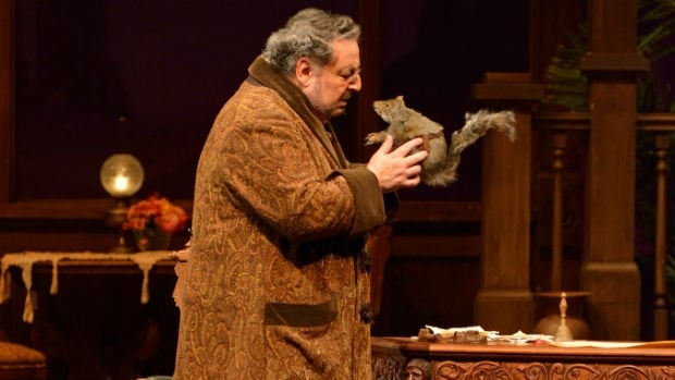 Peter Strummer as Don Pasquale in Manitoba Opera's production of Don Pasquale