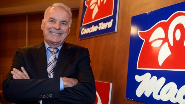 Couche-Tard president Alain Bouchard attends the company's annual general meeting in Laval, Que., Sept.25. Second quarter profits rose 26.7 per cent and its stock is flying high.