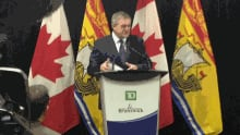 Premier David Alward at TD Insurance jobs announcement