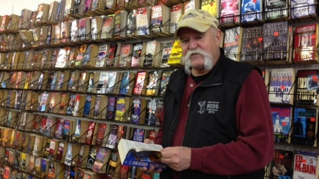 Gord Trickett of Bryan's Books will miss the used bookshop his father founded in 1978. The shop closes at the end of this month.