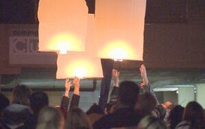 Candle light vigil for Riddick Servio