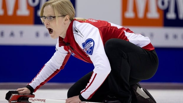 Expect Amber Holland to lead the host Saskatchewan team at the 2015 Scotties Tournament of Hearts. Moose Jaw was awarded the Canadian women's championships for the first time on Wednesday.